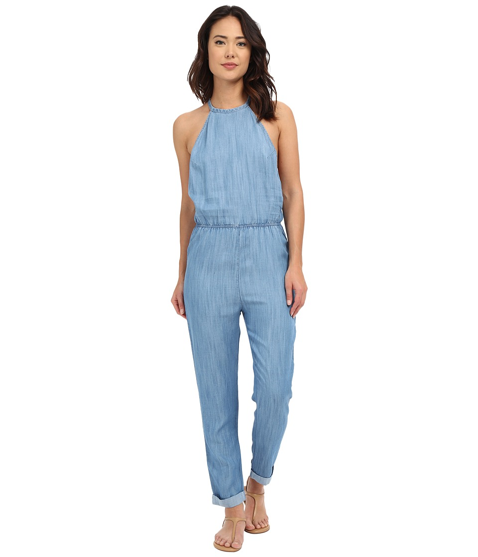 RVCA - Be About It Jumpsuit (Chambray 2) Women's Jumpsuit & Rompers One Piece