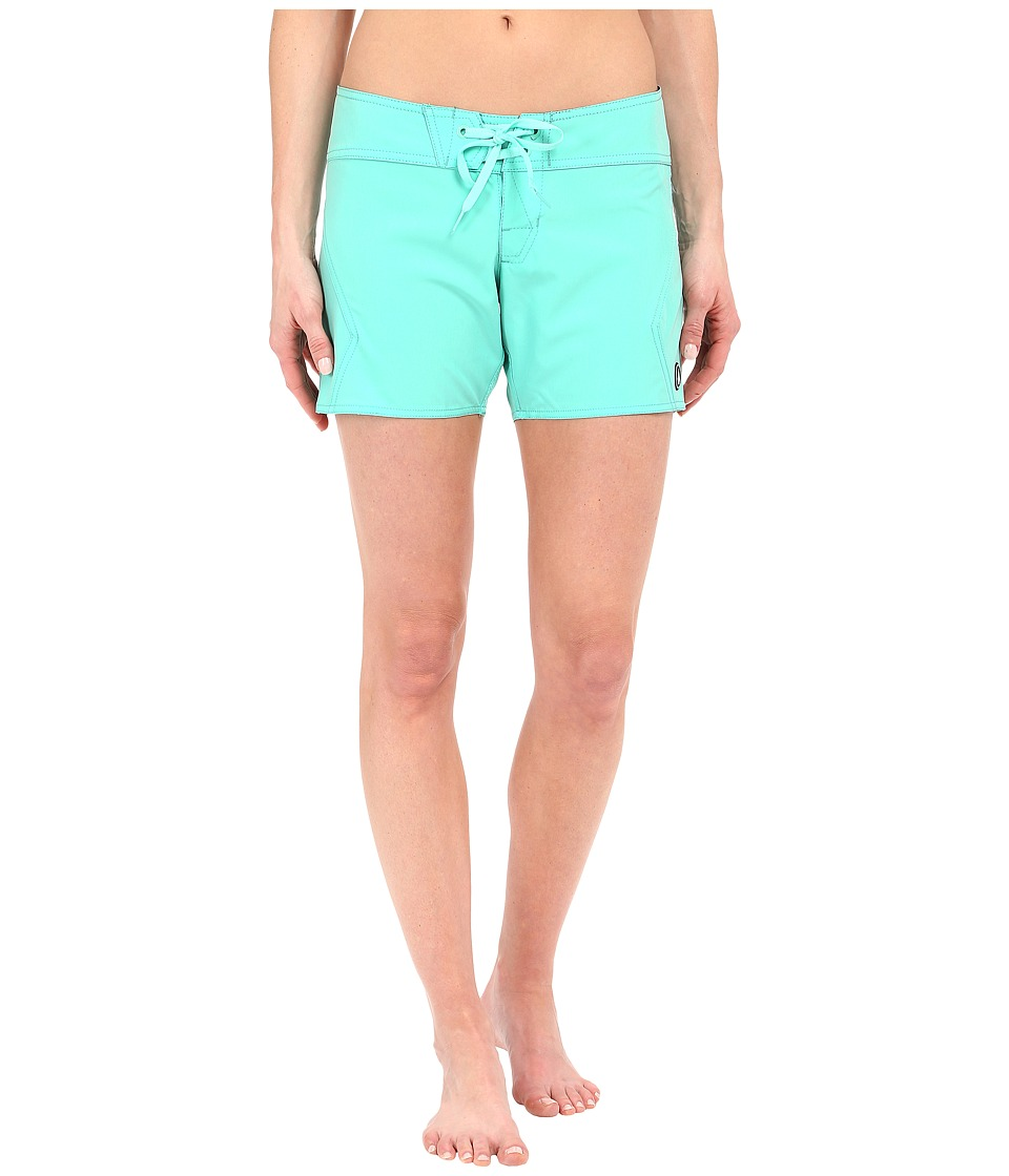 Volcom - Simply Solid 5 Boardshort (Seaglass) Women's Swimwear