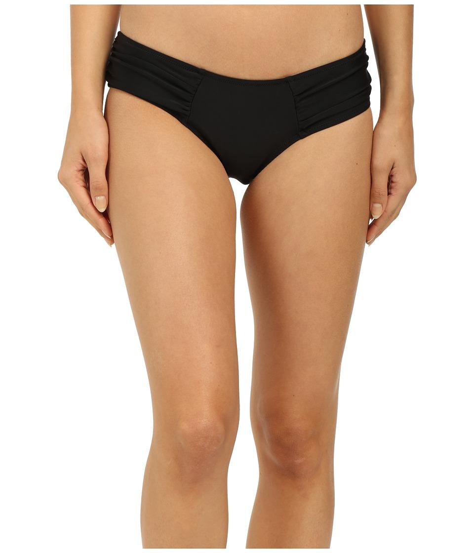 Volcom - Simply Solid Modest Bottoms (Black) Women's Swimwear