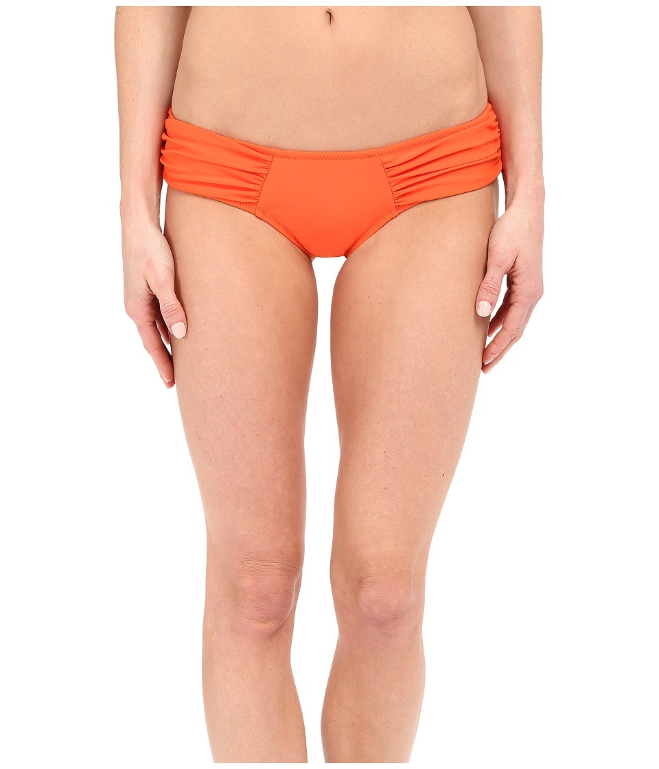 Volcom - Simply Solid Modest Bottoms (Fire Red) Women's Swimwear