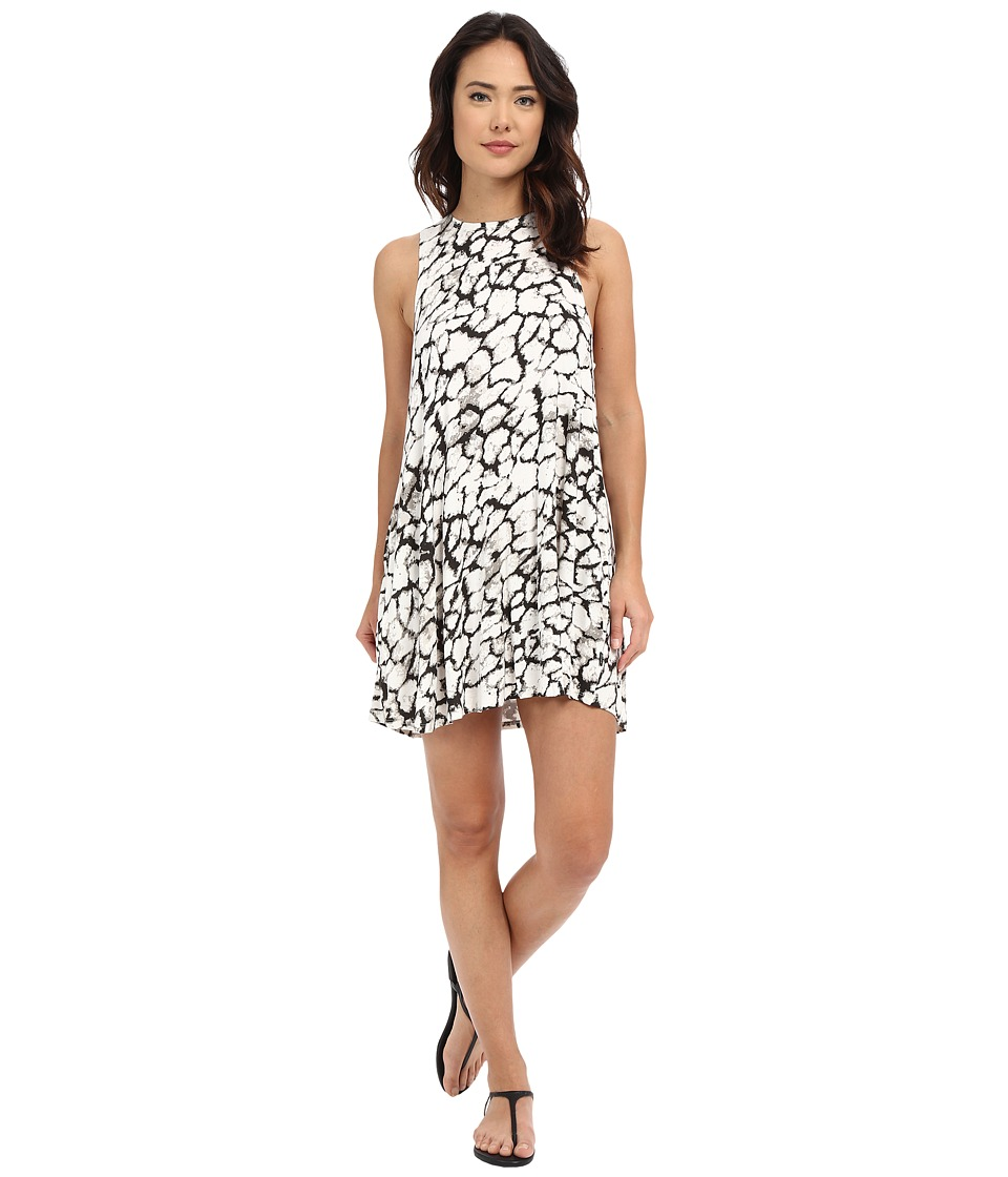 RVCA - Sucker Free Dress (Vintage White) Women's Dress