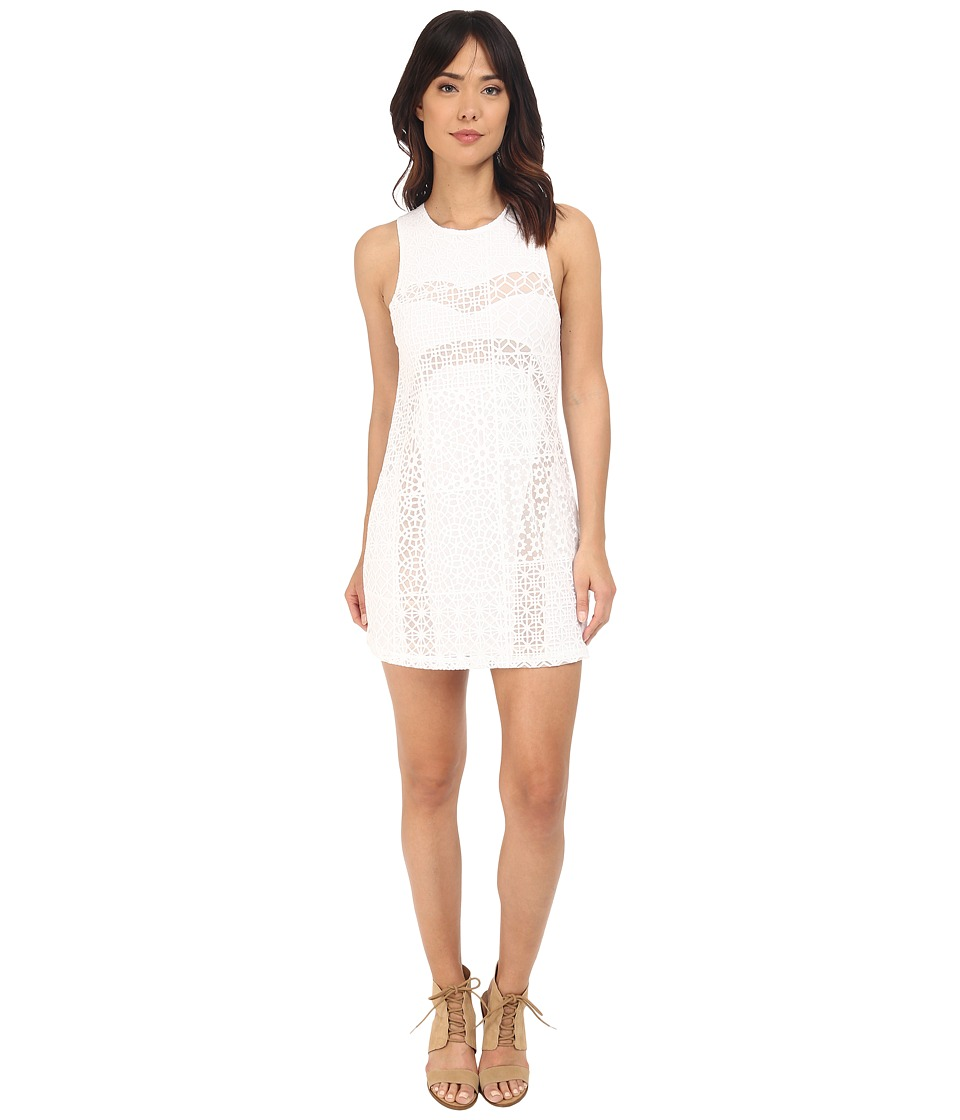 RVCA Tell Me Lies Dress (Vintage White) Women