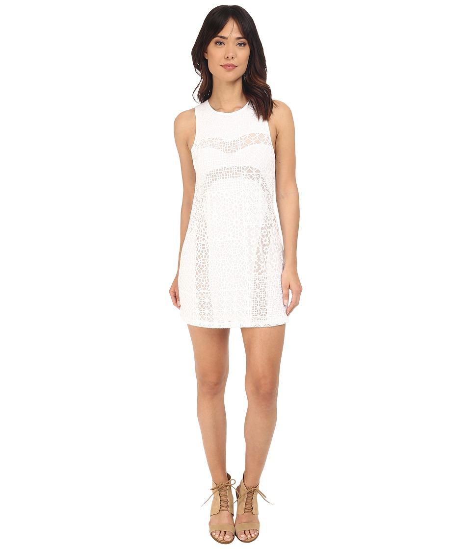 RVCA - Tell Me Lies Dress (Vintage White) Women's Dress