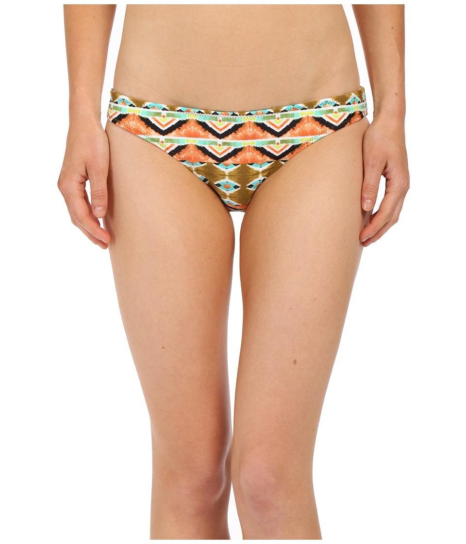 Volcom Native Drift Reversible Full Bottoms Burnt Sienna Swimwear