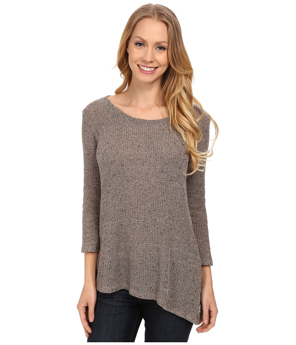 B Collection by Bobeau - Asymmetric Sweater (Sand) Women's Sweater