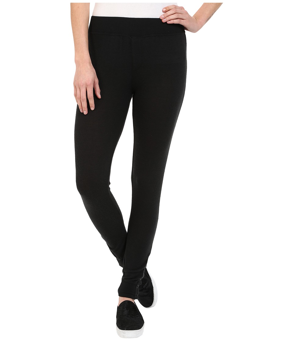 RVCA - Laid Back Leggings (Black) Women's Casual Pants