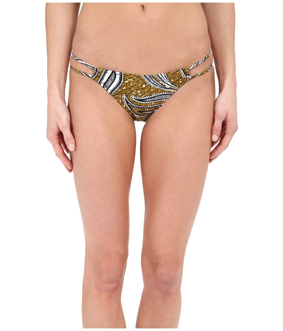 Volcom - Free Bird Modest Bottoms (Army) Women's Swimwear