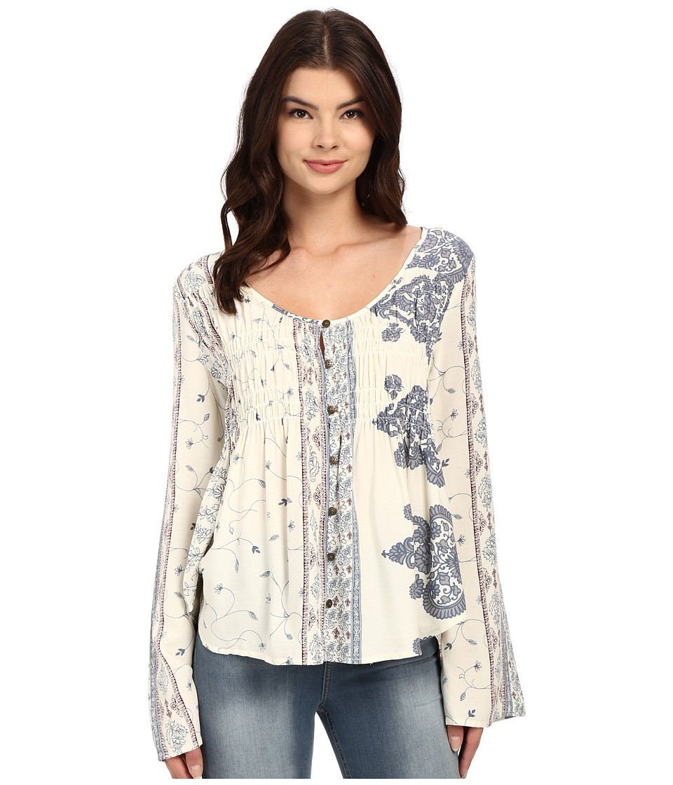 O'Neill - Ursula Long Sleeve Top (Naked) Women's Blouse