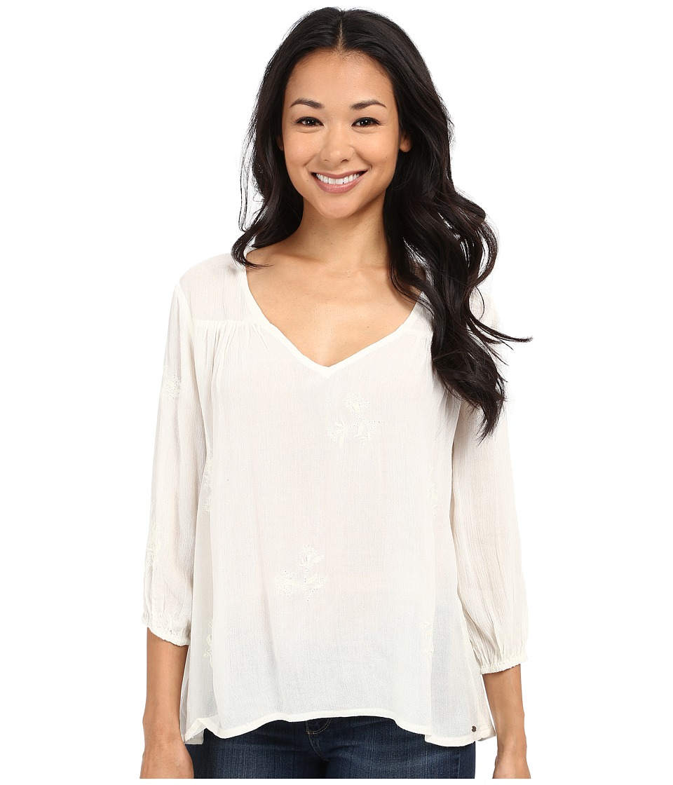 O'Neill - Caroline Long Sleeve Top (Naked) Women's Blouse