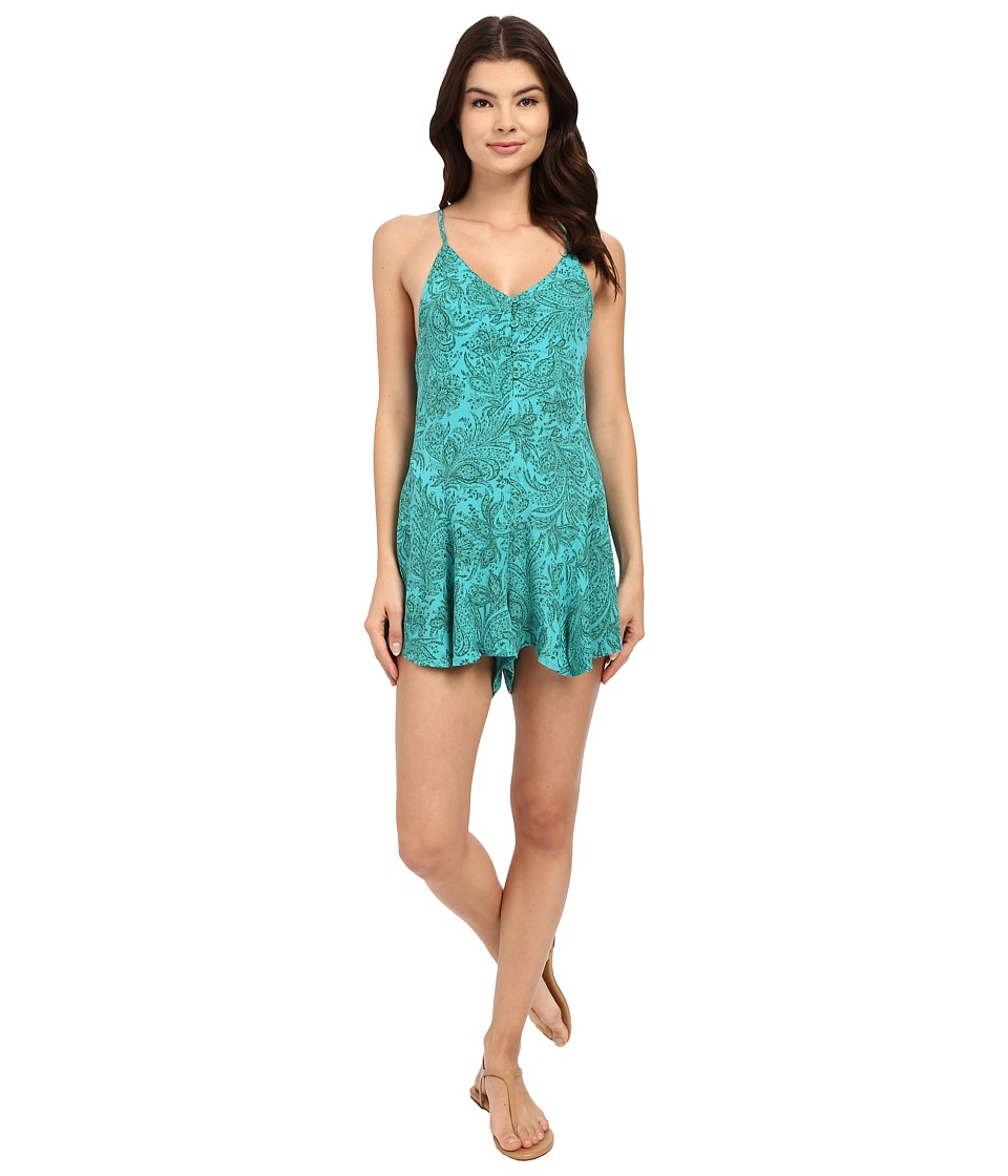 O'Neill - Rosalyn Woven Romper (Baltic) Women's Jumpsuit & Rompers One Piece