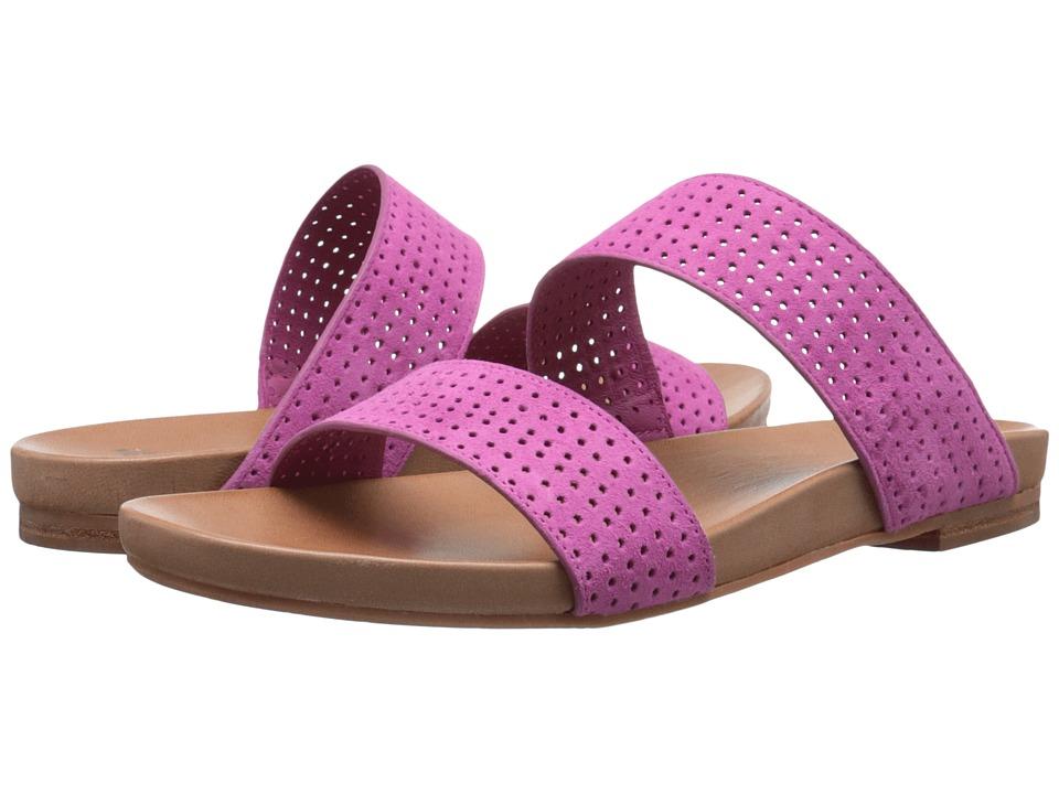 Johnston & Murphy - Jodi Perfed Slide (Azalea Kid Suede) Women's Sandals