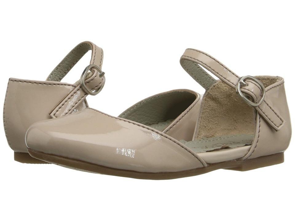 Pazitos - Dorsey MJ PU (Toddler/Little Kid/Big Kid) (Au Natural) Girls Shoes