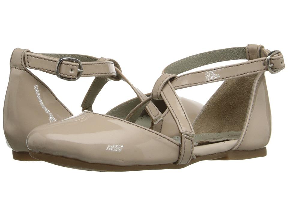 Pazitos - X Dorsey BF PU (Little Kid/Big Kid) (Au Natural) Girls Shoes