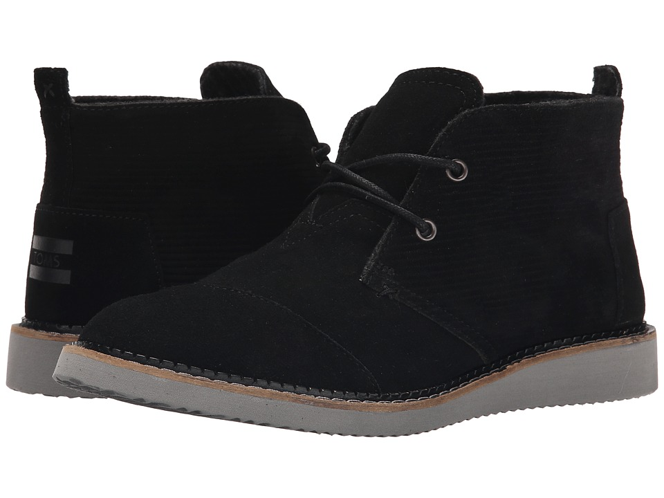 TOMS Mateo Chukka Boot (Black) Men