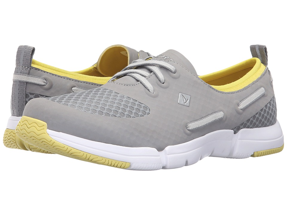 Sperry - Ripple Rush Mesh (Grey) Women's Lace up casual Shoes