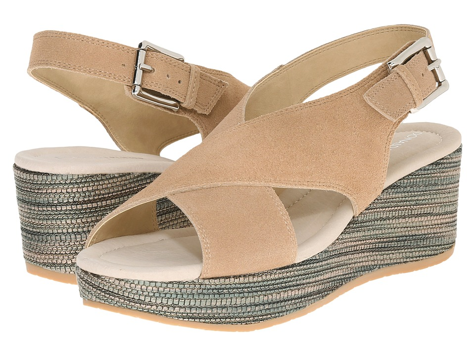 Donald J Pliner - Sahar (Camel/Khaki) Women's Wedge Shoes