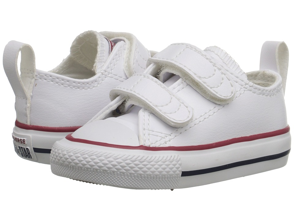 Converse Kids - Ctas 2V (Infant/Toddler) (White) Kid's Shoes