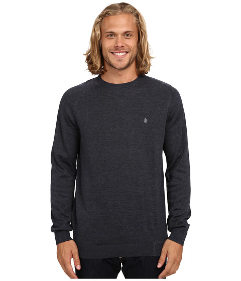 Volcom - Understated Crew Sweater (Navy) Men
