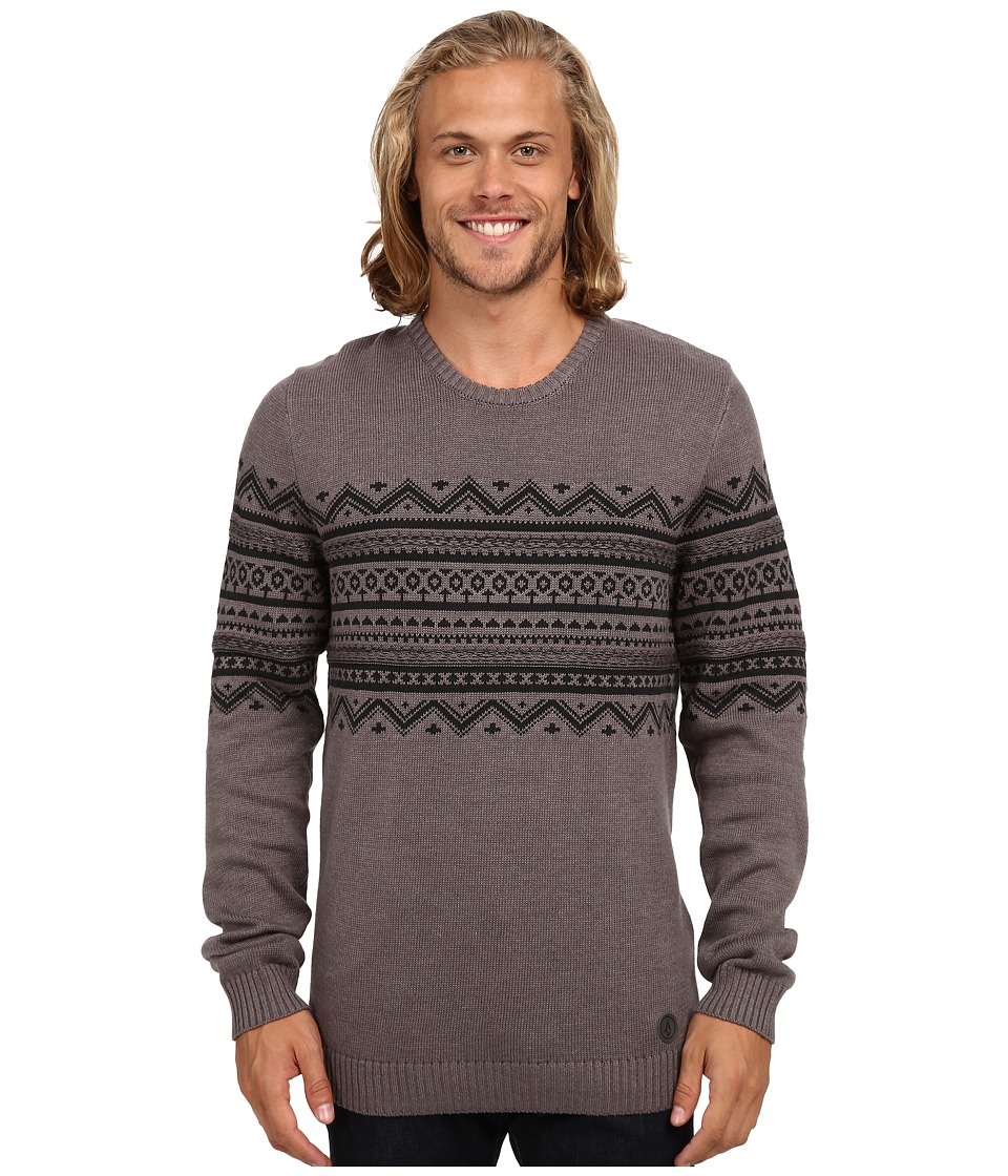 Volcom - Kruz Sweater (Heather Grey) Men's Sweater