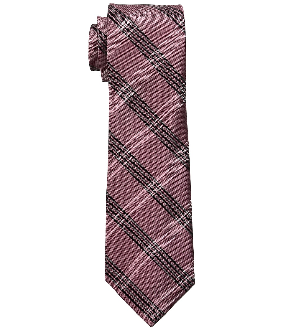 DKNY - Suiting Plaid (Rosewood) Ties