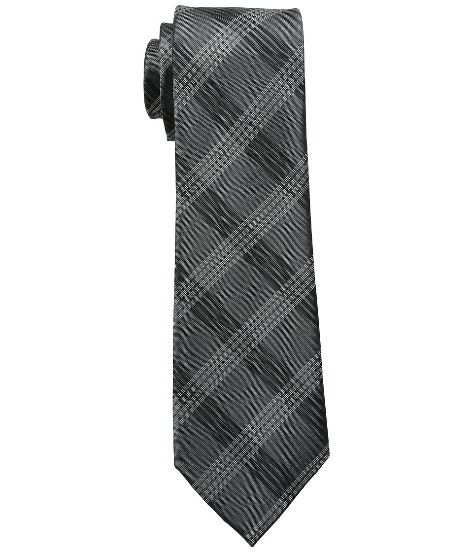 DKNY - Suiting Plaid (Gray) Ties