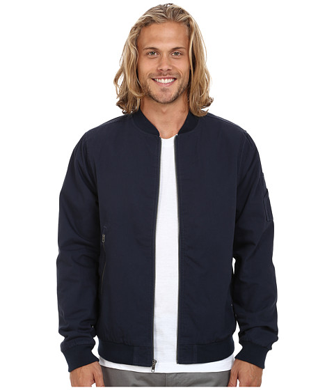 Volcom - Badger Jacket (Navy) Men's Coat