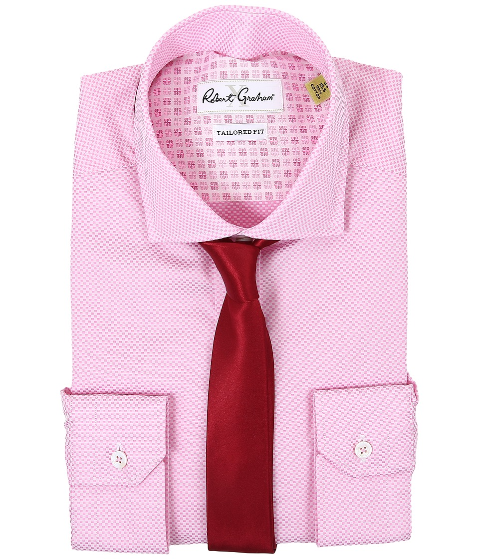 Robert Graham - Bologna Dress Shirt (Pink) Men's Clothing