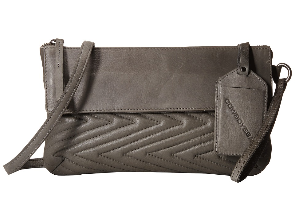 COWBOYSBELT - Nantwich (Grey) Clutch Handbags