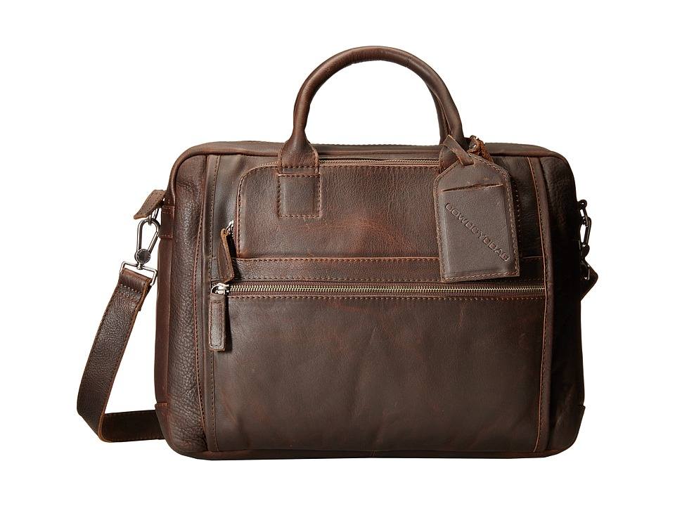 COWBOYSBELT Boaz (Black) Briefcase Bags
