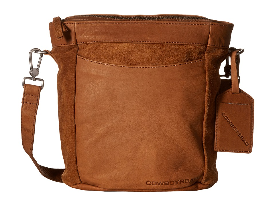 COWBOYSBELT - Eastleigh (Chestnut) Cross Body Handbags