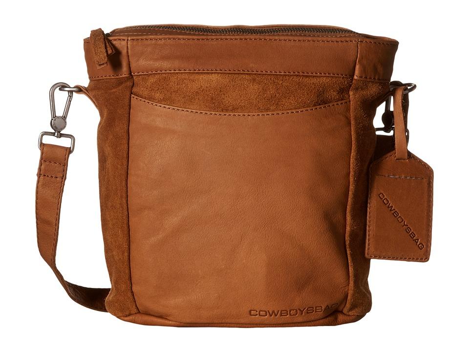 COWBOYSBELT - Eastleigh (Chestnut) Cross Body Handbags