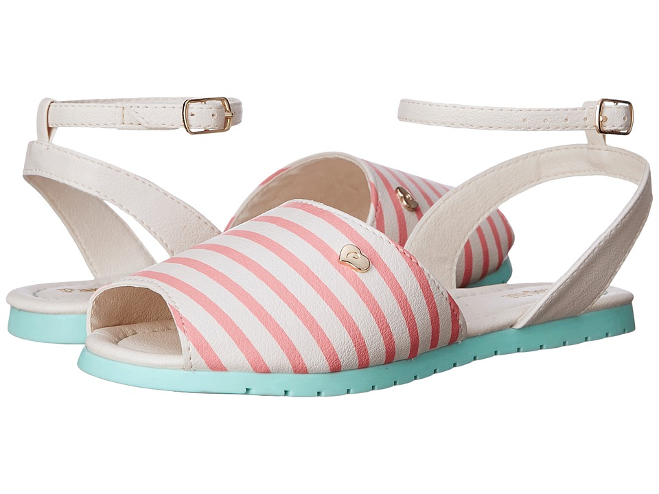 Pampili - Candy 123.006 (Toddler/Little Kid) (Trigo/Flamingo) Girl's Shoes