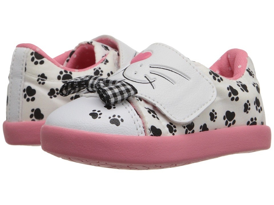 Pampili - Zoo 187.021 (Infant/Toddler) (Branco/Babaloo) Girl's Shoes