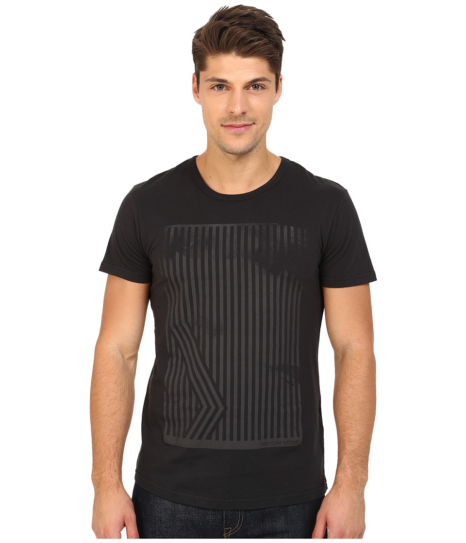 Volcom - Inter Short Sleeve Tee (Black) Men's T Shirt