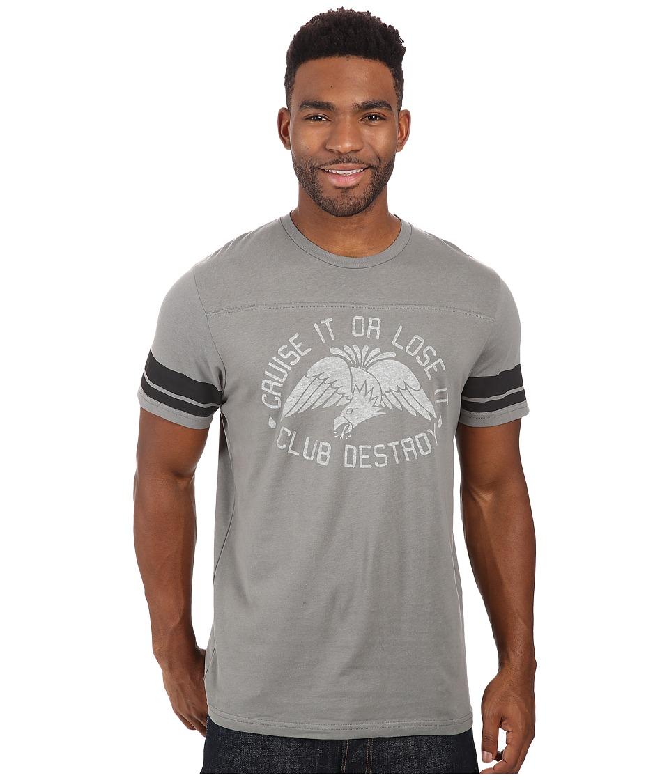 Volcom - Cruise It Club Short Sleeve Tee (Dark Grey) Men's T Shirt