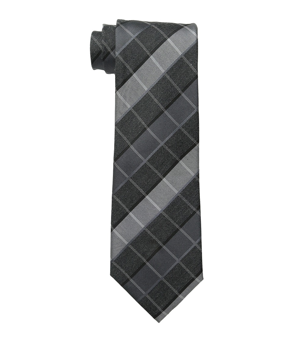 Kenneth Cole Reaction - Sidewalk Plaid (Black) Ties