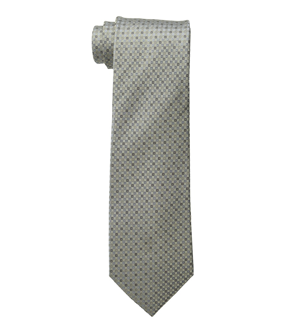 Kenneth Cole Reaction - Mini Square (Taupe) Ties