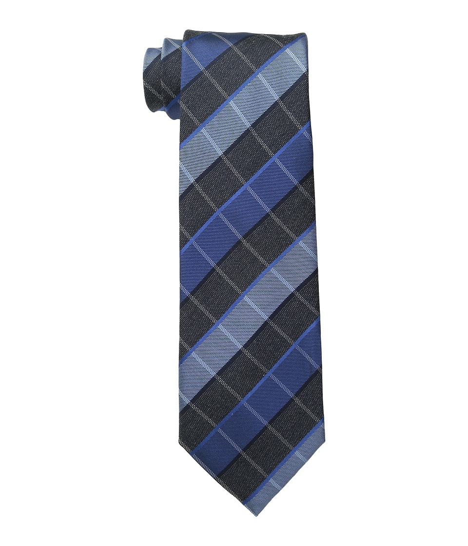 Kenneth Cole Reaction - Sidewalk Plaid (Blue) Ties