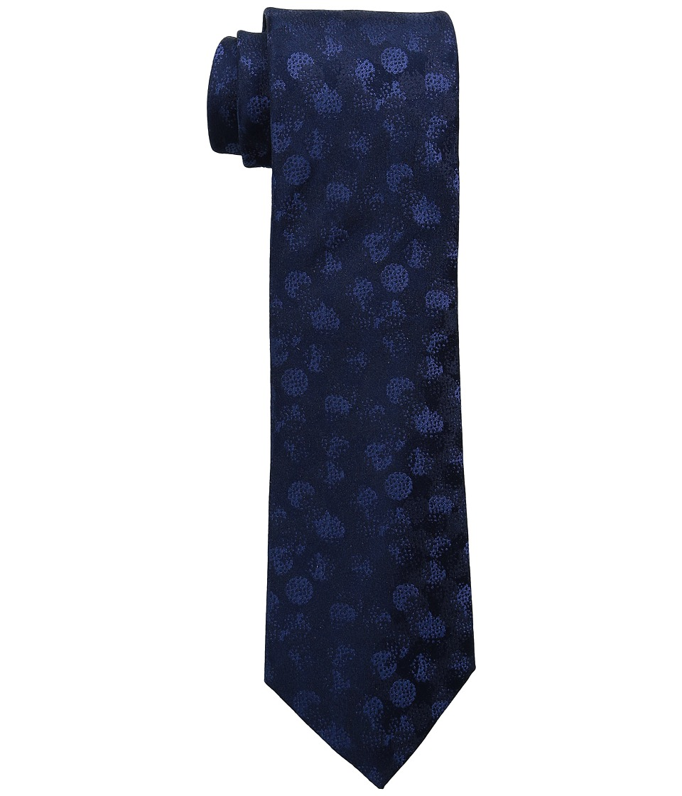 Kenneth Cole Reaction - Abstract Solid (Navy) Ties