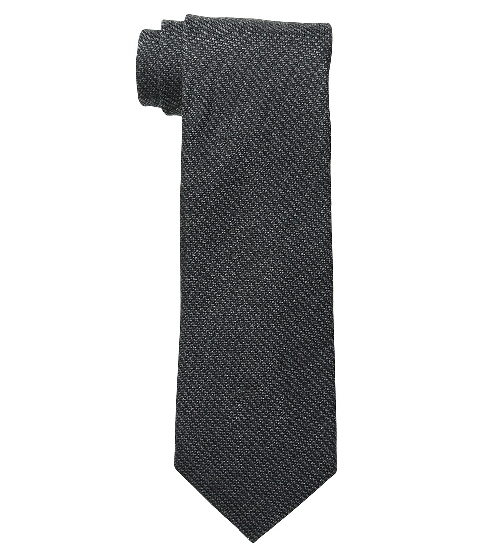 Kenneth Cole Reaction - Melange Solid (Black) Ties