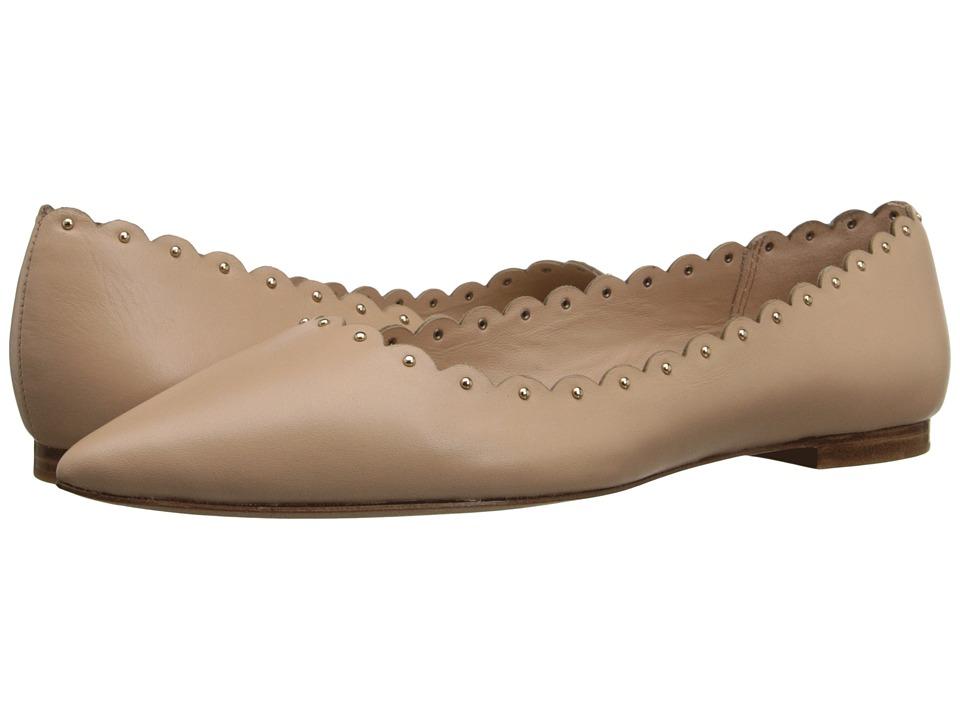 COACH - Jill (Beechwood Soft Shine Calf) Women's Dress Flat Shoes