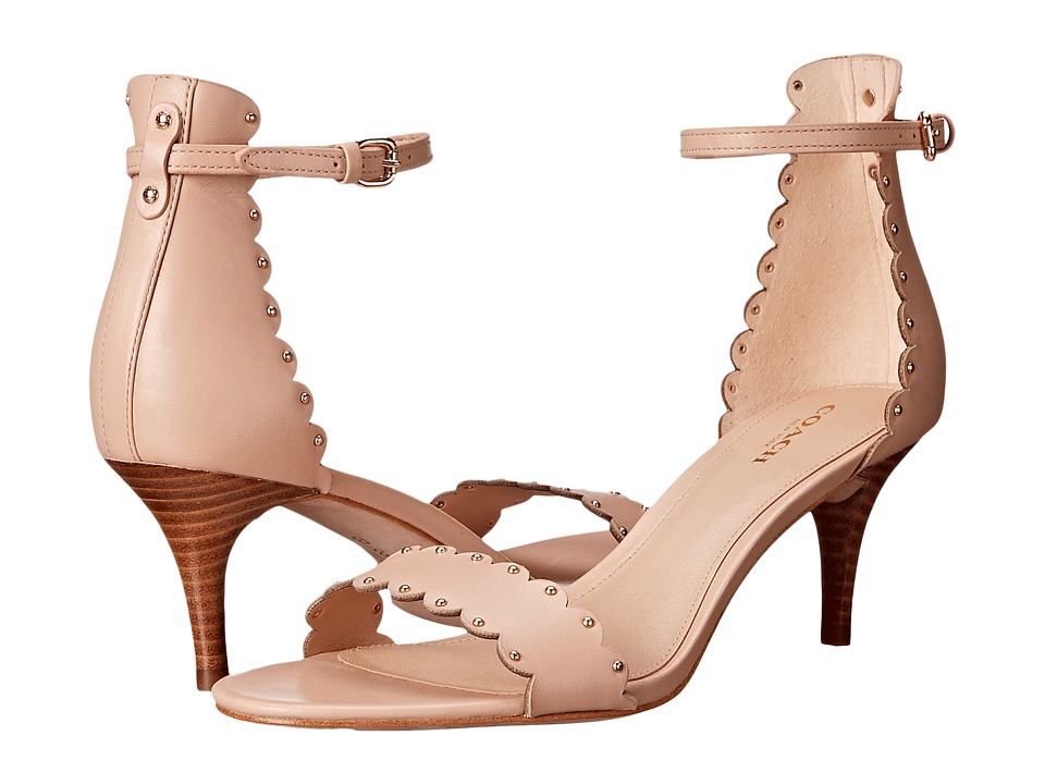 COACH - Monica (Beechwood Soft Shine Calf) High Heels