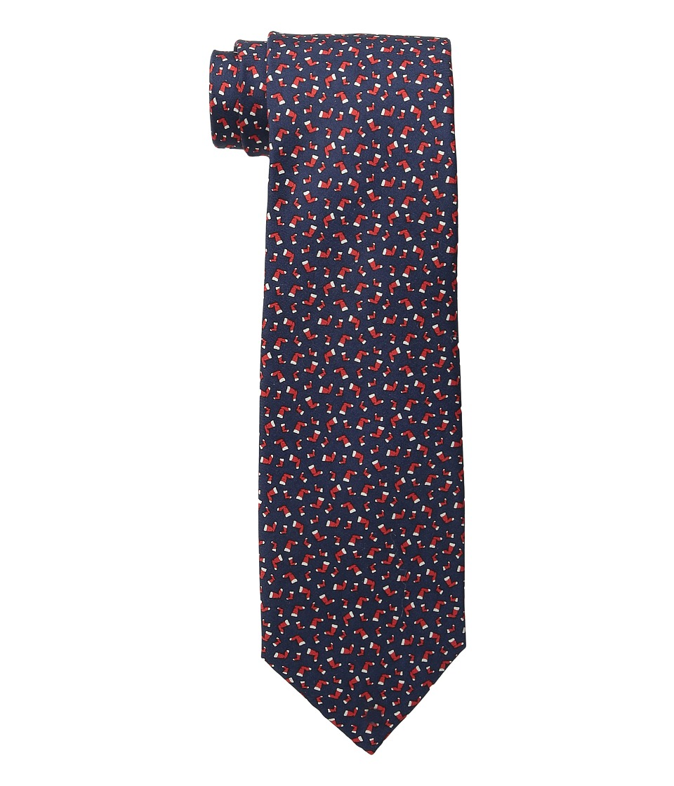 Tommy Hilfiger - Stocking Print (Red) Ties