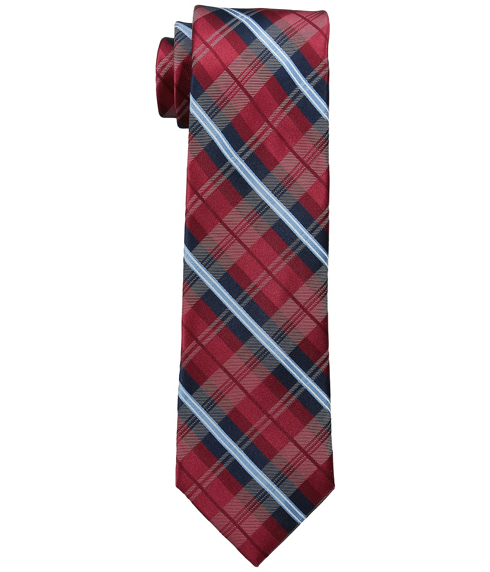 Tommy Hilfiger - Red Plaid Group (Deep Red) Ties