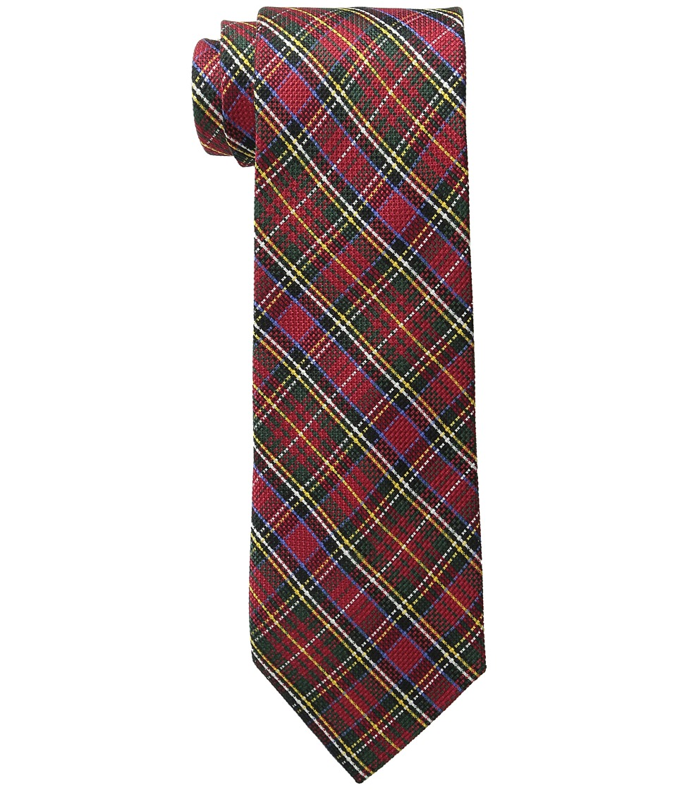 Tommy Hilfiger - Grenadine Tartans 1 (Red) Ties