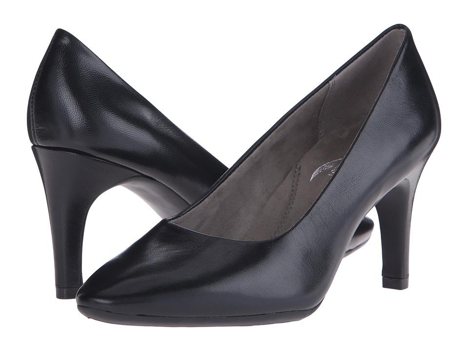 Aerosoles - Exquisite (Black Leather) High Heels