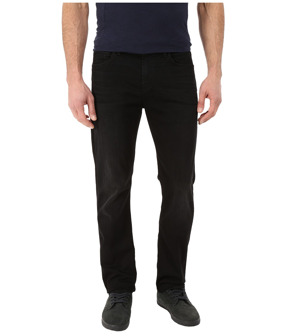 7 For All Mankind - The Straight in Washed Black (Washed Black) Men's Jeans