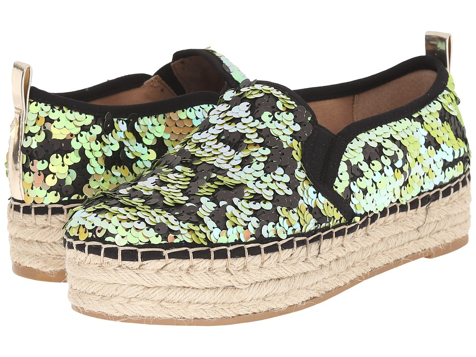 Sam Edelman - Carrin (Iridescent Jute Groovy Sequins) Women
