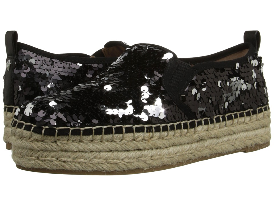 Sam Edelman - Carrin (Black/Silver Groovy Sequins) Women