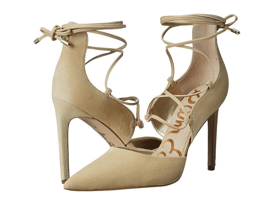 Sam Edelman - Dayna (Desert Nude Kid Suede Leather) High Heels